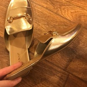 BAMBOO Shoes - New Gold loafers